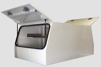 Ute Canopy Aluminium, Powder Coated