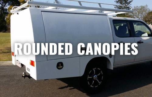 Rounded canopies & Vehicle Canopies | Custom-Made Aluminium Ute Canopies | Ausbox