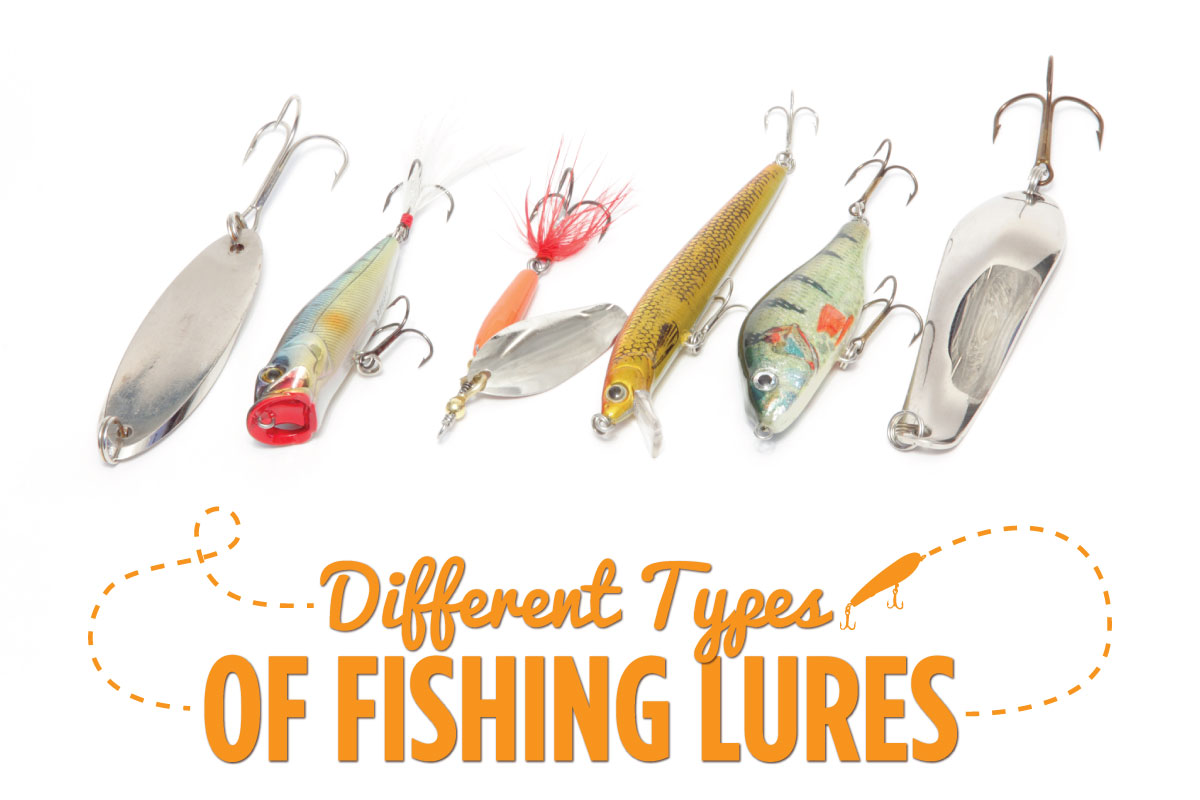 different types of fishing lures austates