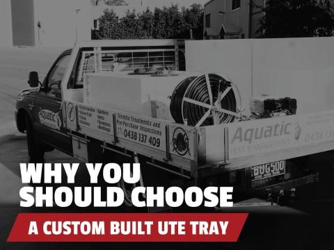 custom built ute tray