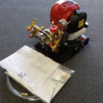 PUMP and MOTOR, GX35 HONDA w COMMANDO BRASS PUMP