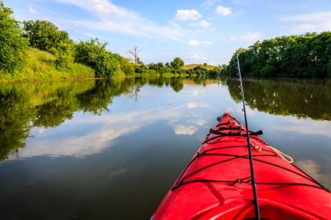 Kayak fishing brisbane