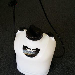 Apex electric sprayer Knapsack with 12 volt pump front