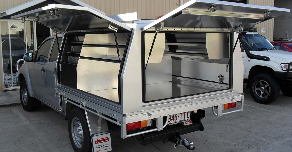 standard canopy & Maximise your ute storage with a custom ute canopy -