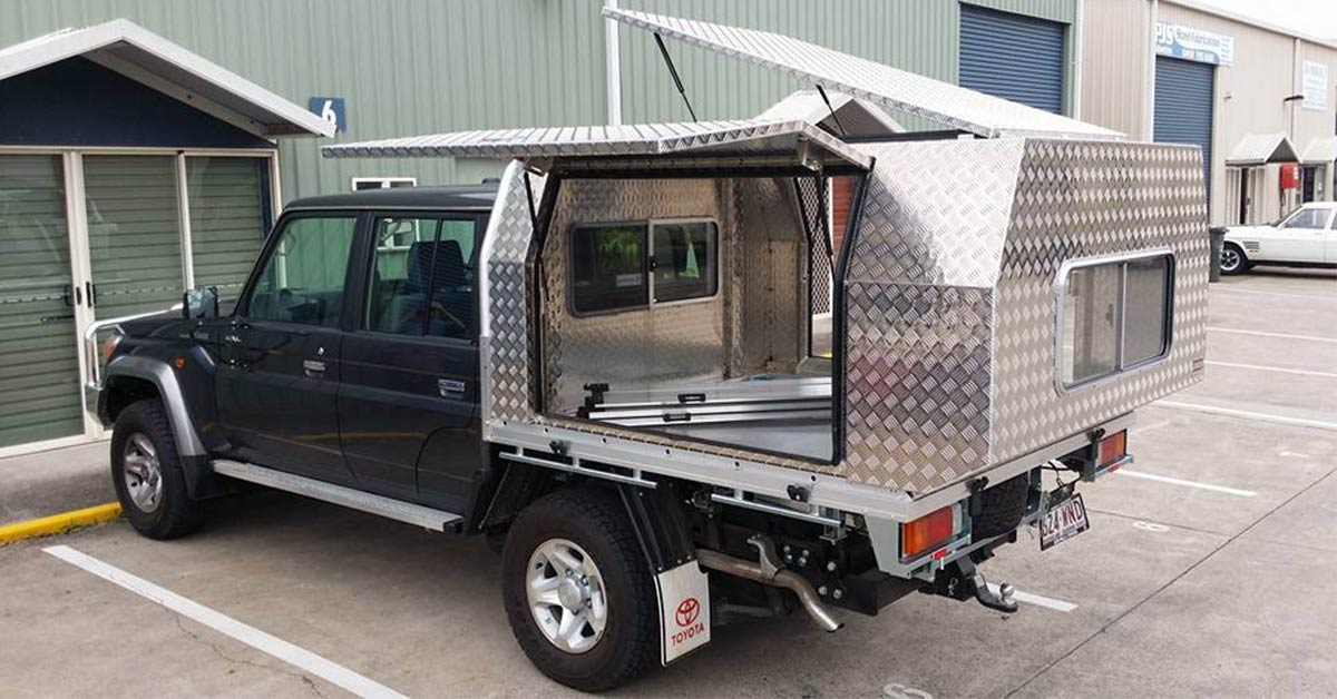 overhanging canopies & Maximise your ute storage with a custom ute canopy -