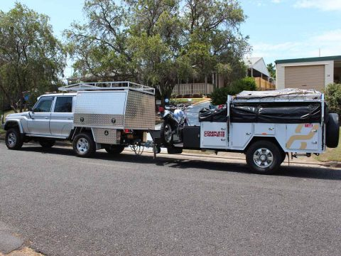 Austates Custom Designed Ute Canopy for Traveling