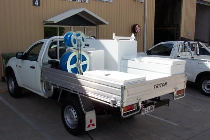 Vehicle Spray Units