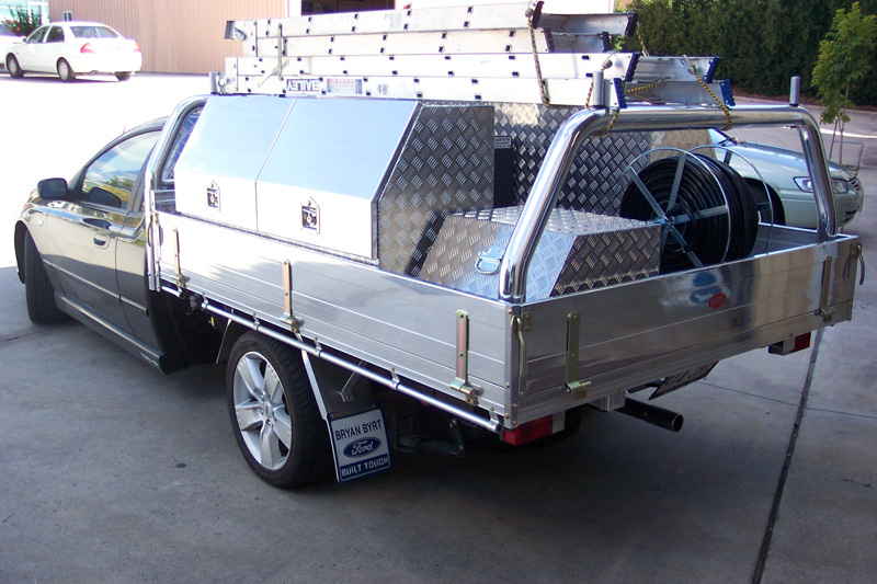 custom vehicle spray unit