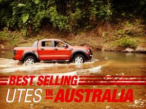 Best Selling Utes in Australia