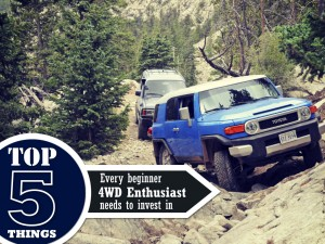 Top 5 things every beginner 4wd enthusiast needs to invest in