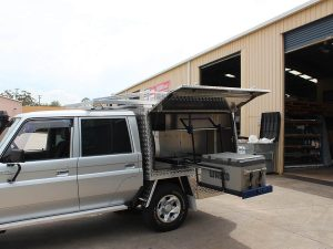 Adding a fridge to your ute canopy