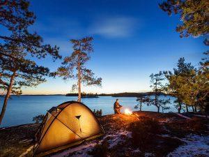 Camping at Borumba Dam