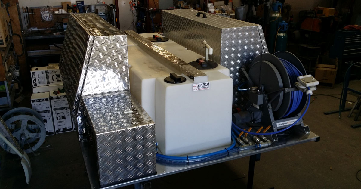 Austates can upgrade, repair and refurbish old vehicle spray units. Weed control unit repairs will increase the lifespan of your gear and vehicle. Refurbish your vehicle spray unit to make it more operable and convenient with Austates.