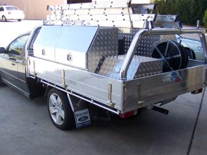 Australian Custom Made Vehicle Spray Units