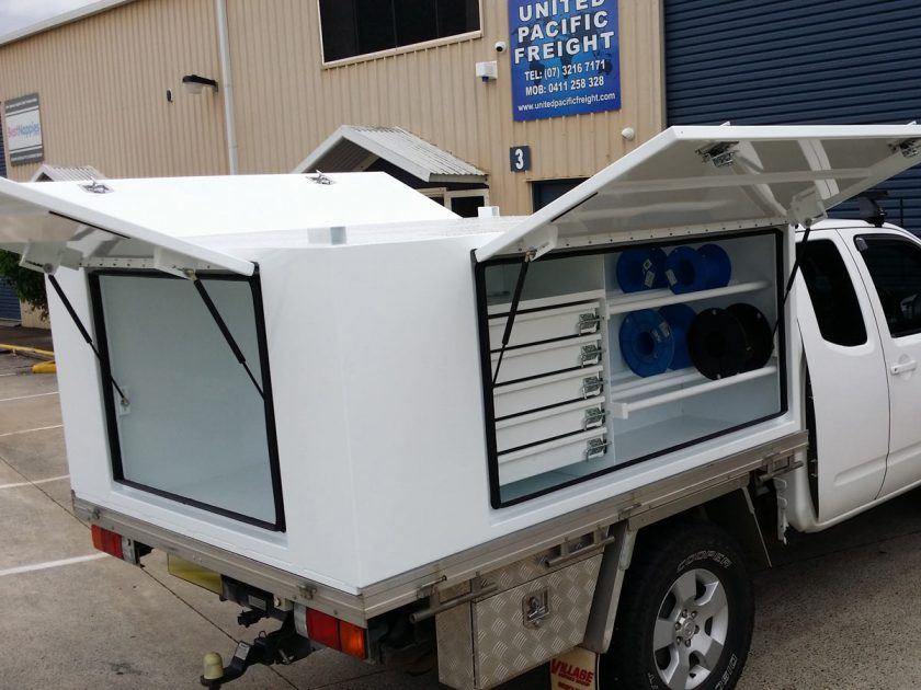Secure Ute Square Canopy for Electricians