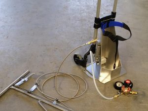 Recent Projects – A Custom-made Mobile Gas Injection System