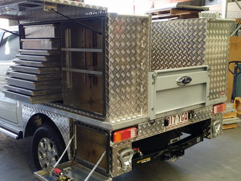 Case Study – Ausbox Ute Service Body Job