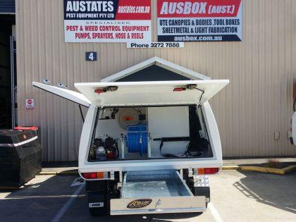 Pest Control Vehicle Spray Unit