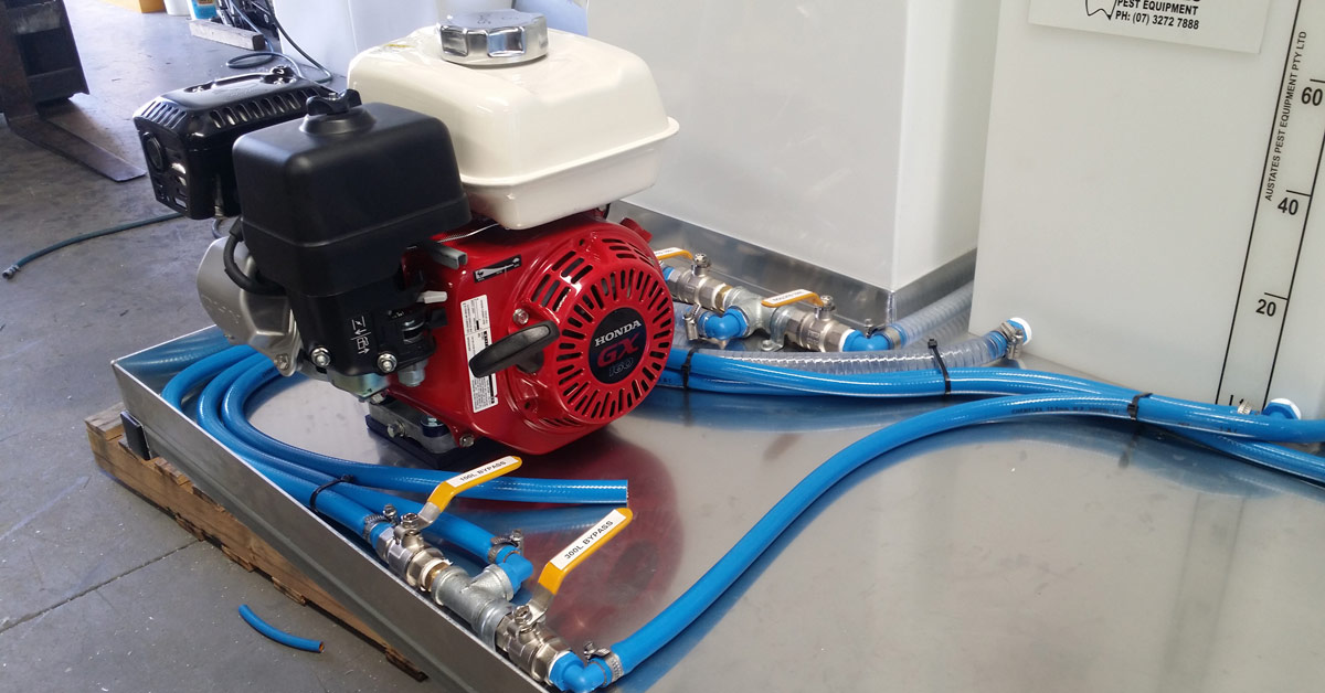 pest control equipment | pumps and sprayers | pest equipment maintenance | pumps maintenance