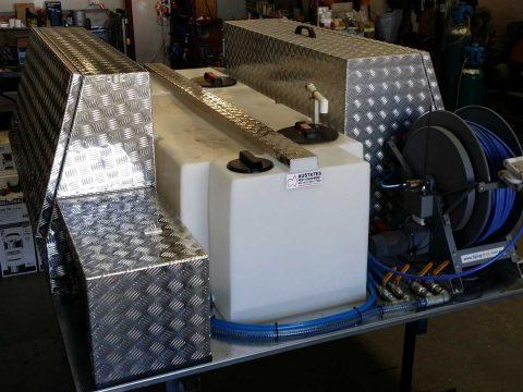 pest control equipment vehicle spray unit